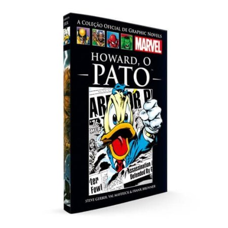 Livro Graphic Novels Marvel Ed. 104 Howard, O Pato