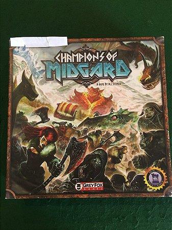 Champions of Midgards com Expansão (usado)
