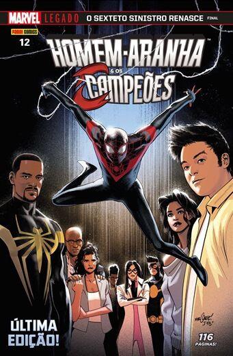 Homem-Aranha & Os Campeões - Edição 12