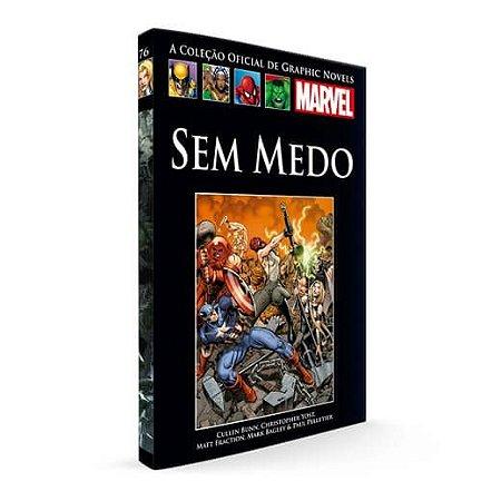 Livro Graphic Novels Marvel Ed. 106 Sem Medo