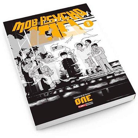 Mob Psycho 100 - Edição 8