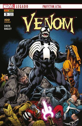 Venom - Edição 3 Marvel Legado: Protetor Letal