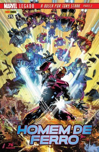 Homem de Ferro - Edição 25 Legado: A Busca por Tony Stark - Parte 2