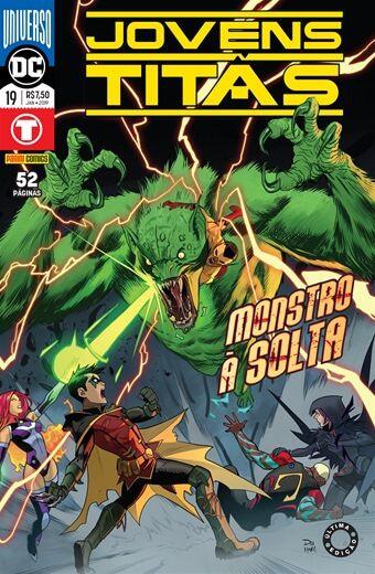 Jovens Titãs: Universo DC - Edição 19 Monstro à Solta