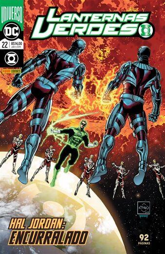 Lanternas Verdes - Universo DC - Edição 22 Hal Jordan: Encurralado