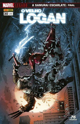O Velho Logan - Edição 30 Marvel Legado: A Samurai Escarlate - Final