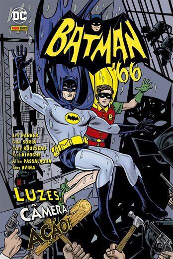 Batman '66 - Edição 1 Luzes, Câmera, Ação!