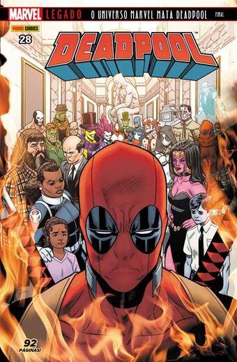 Deadpool - Edição 28 Marvel Legado: O Universo Marvel mata Deadpool - Final