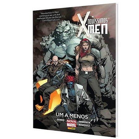 Novissimos X-Men: Um a Menos Capa Dura
