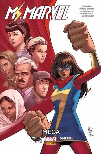 Ms Marvel - Meca Capa Dura