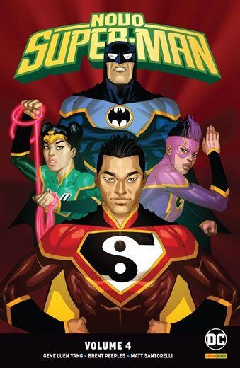 Novo Super-Man: Renascimento Volume 4