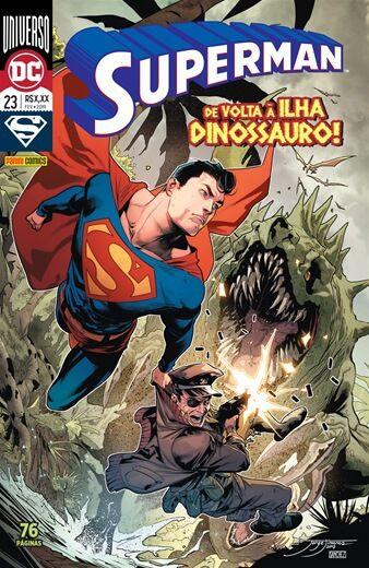 Superman: Universo DC - Edição 23 De volta à ilha Dinossauro!