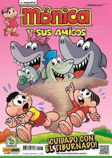 Mónica y sus Amigos - Edição 47 iCuidado con el Tiburnado!