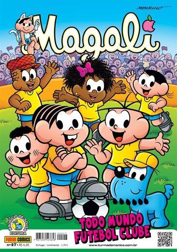 Gibi da Magali - Edição 47 Todo Mundo Futebol Clube