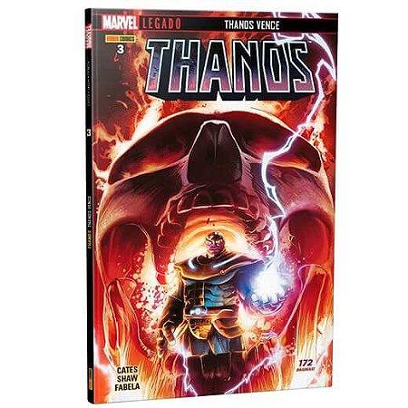 Thanos - Edição 3 Marvel Legado: Thanos Vence