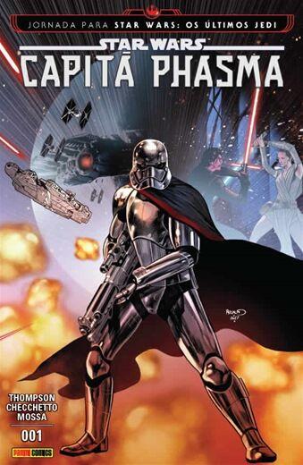 Capitã Phasma - Edição 1 Jornada para Star Wars: Os últimos Jedi