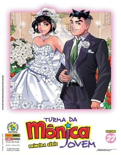 Turma da Mônica Jovem - Volume 22 - Primeira Série Edições 49 e 50