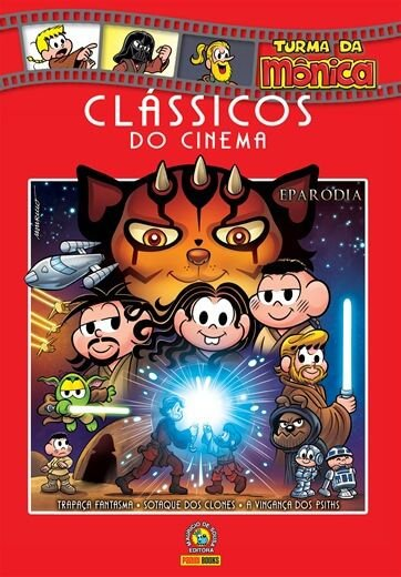 Livro Clássicos do Cinema - Volume 7 Eparódia