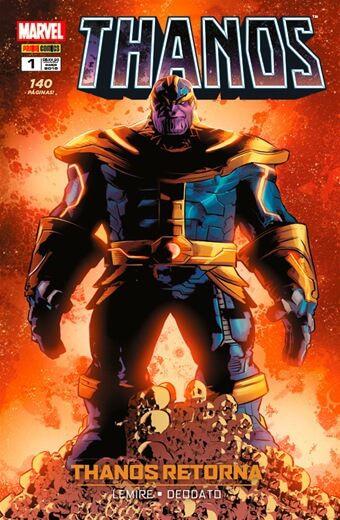 Thanos - Edição 1 Thanos Retorna