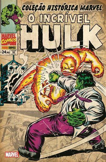 Coleção Histórica Marvel O Incrível Hulk - Volume 10