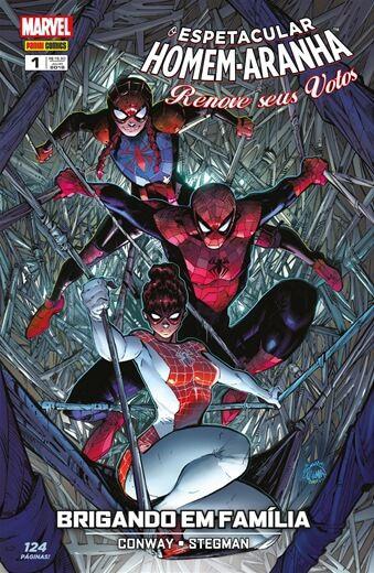 O Espetacular Homem-Aranha: Renove seus votos - Edição 1 Brigando em Família