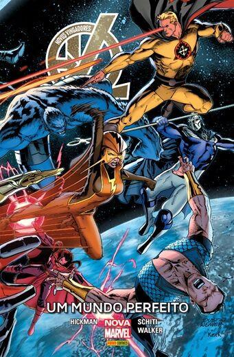 Novos Vingadores Um mundo perfeito
