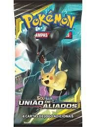 JGS BRINQ CARTON-POKEMON SL9 - BOOSTER DISPLAY (CX. MASTER) - UNIAO DE ALIADOS