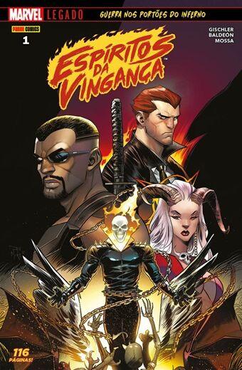Espíritos da Vingança - Edição 1 Marvel Legado: Guerra nos portões do inferno