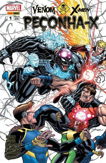 Venom vs X-Men Peçonha-X