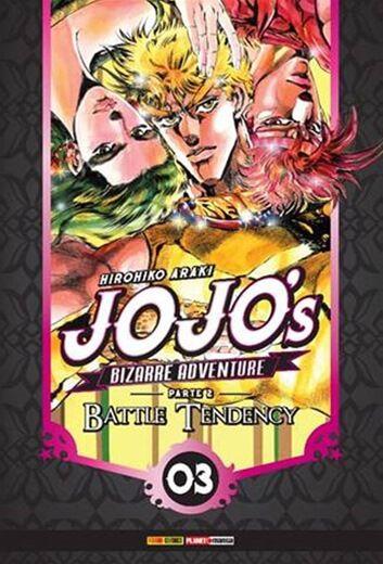Jojo's: Bizarre Adventure - Volume 3 Parte 2 - Battle Tendency
