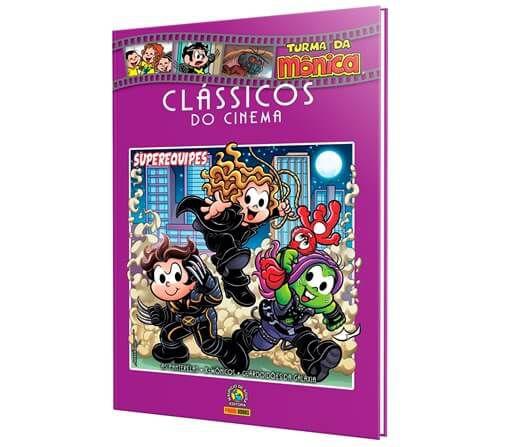 Livro Clássicos do cinema - Volume 5 Superequipes