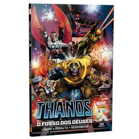 Thanos - Edição 2 O fosso dos deuses