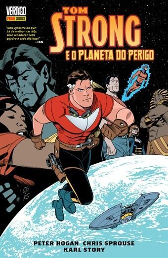 Tom Strong e o Planeta do Perigo