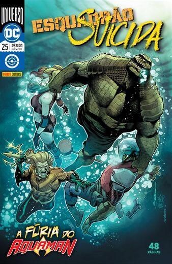 Esquadrão Suicida: Renascimento - 25 A fúria do Aquaman