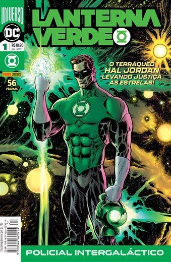 Lanterna Verde: Universo DC - 1 Policial Intergalático