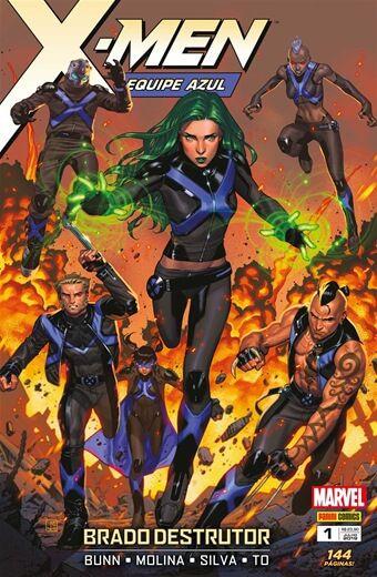 X-Men: Equipe Azul - Volume 1
