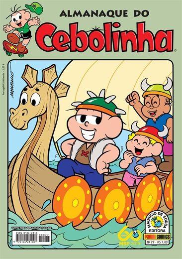Almanaque do Cebolinha - 77