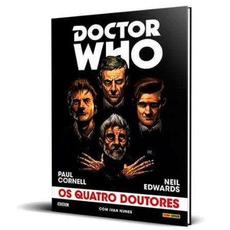 Doctor Who: Os Quatro Doutores Capa Dura