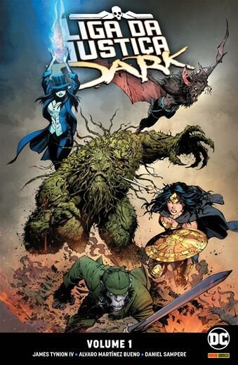 Liga da Justiça Dark - Volume 1 Magia em risco!