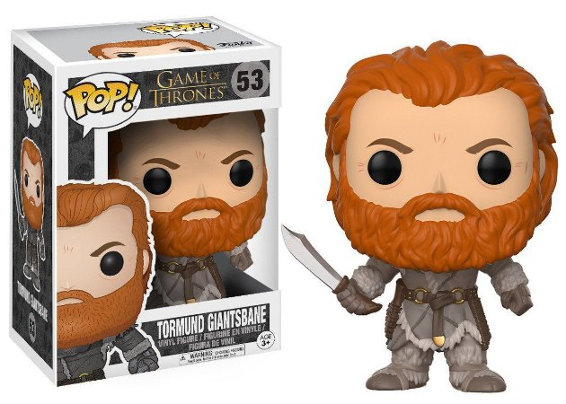FUNKO - GAME OF THRONES - TORMUND GIANTSBANR 53