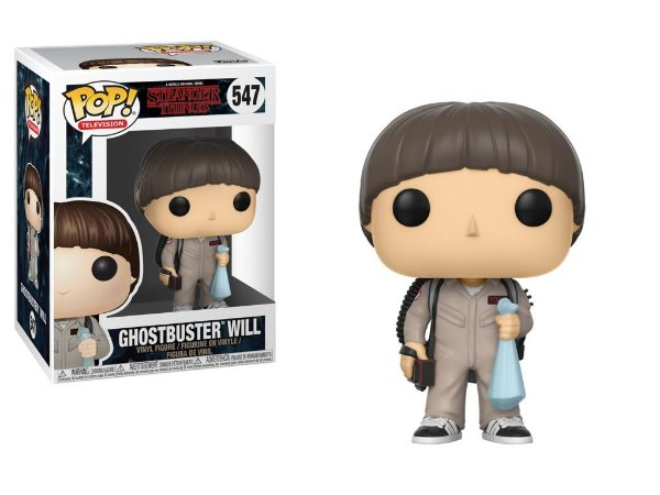 FUNKO - STRANGER THINGS - GHOSTBUSTER WILL 547'