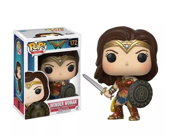 POP FUNKO  - WONDER WOMAN