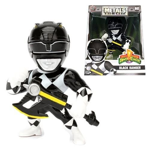 METALS DIE CAST M401' POWER RANGERS - BLACK RANGER