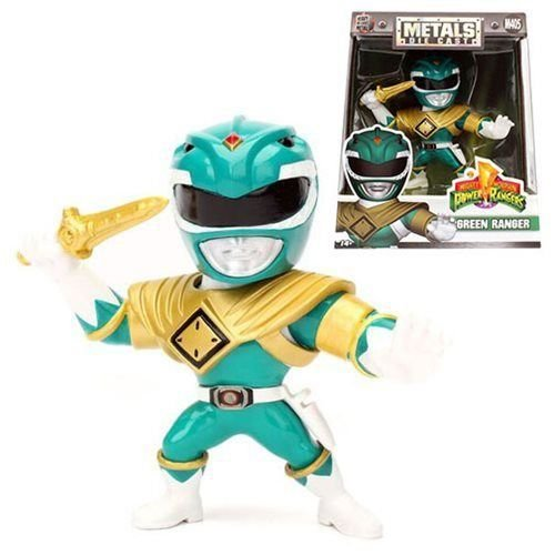 METALS DIE CAST M405' POWER RANGERS - GREEN RANGER