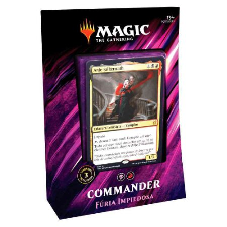 Magic The Gathering - Commander Fúria Impiedosa