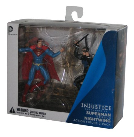 DIAMOND / INJUSTICE SUPERMAN VS NIGHTWING