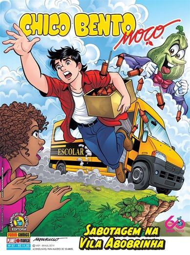 Chico Bento Moço - Volume 67 Sabotagem na Vila Abobrinha