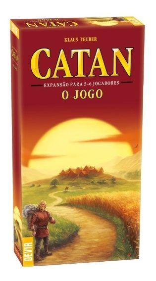 EXPANSÃO CATAN 5-6 JOGADORES