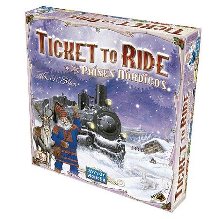 TIcket To Ride Países Nórticos
