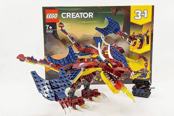 LEGO Creator - Dragão do Fogo